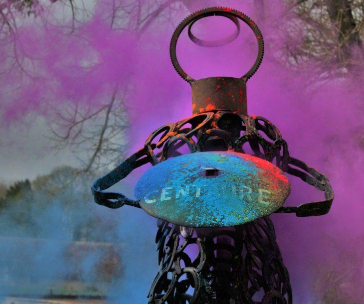 Le centaure de Saint Cyran en couleur par les terminales hippiques