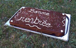 Le gâteau de rentrée